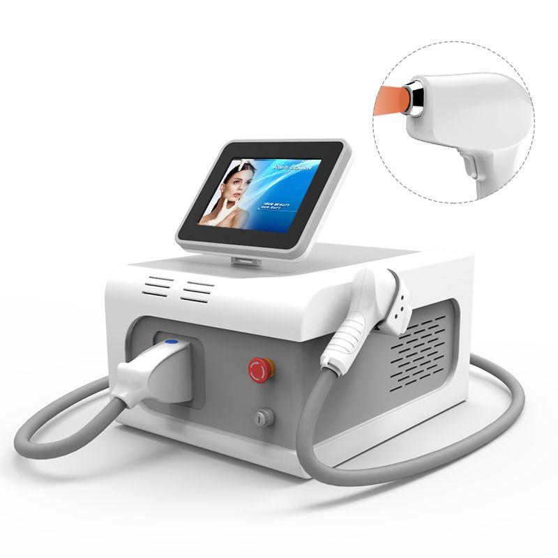venta caliente de la máquina del laser Italia Bomba sin dolor Belleza Permanente 755nm 808nm Remoción 1064 diodo láser cabello Instrumento a precio de fábrica