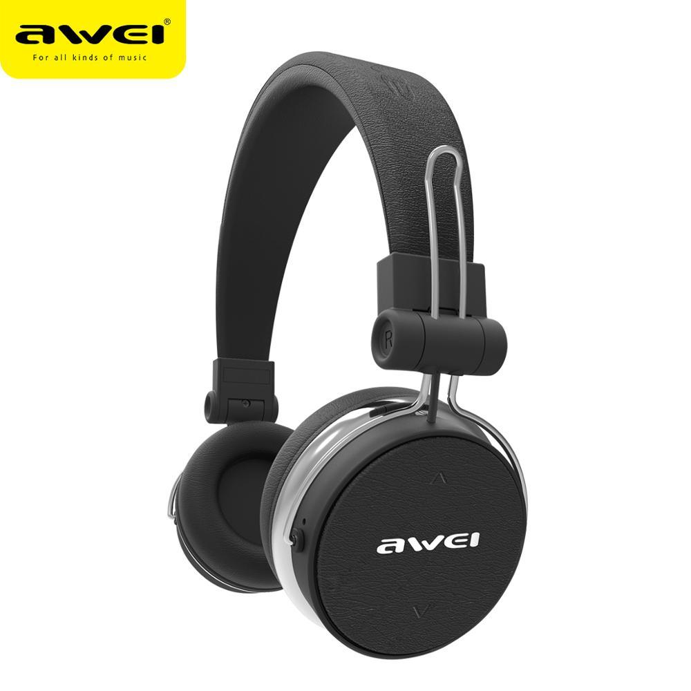 AWEI A700BL Wireless Bluetooth Earphone Headphones With Microphone Stereo Earphones Headset Casque Earpiece For iphone Samsung Huawei Xiaomi