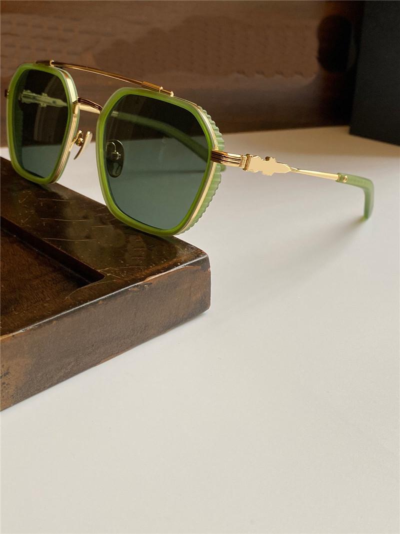 La lente de los hombres populares de la mejor calidad, marco, reflectante diseño simple retro nuevas gafas de sol recubiertas clásica anti-ultravioleta HOTATECT SQURY R BUGG