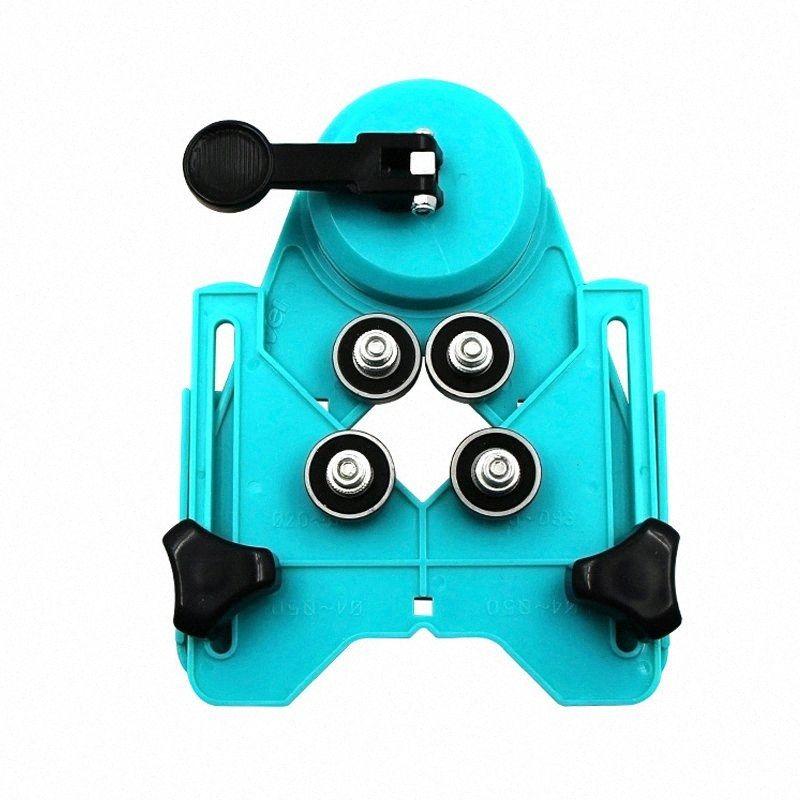Drill Bit Tile Hole Locator Vetro Sega Nucleo bit Guida apertura regolabile 4-83mm Drill mattonelle foro di vetro Locator-30 3dxu #