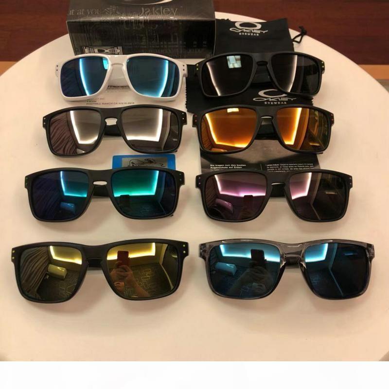 Óculos polarizados O óculos de sol OO9102 moda óculos de sol das mulheres dos homens Surf Pesca óculos de alta qualidade lente colorida Quadro TR90 HD