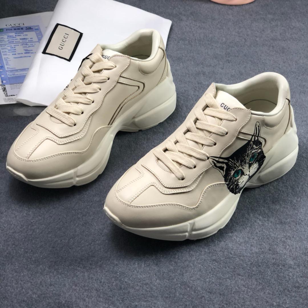2019d lusso superiore qualità nuovo 3D ha stampato il modello di personalità di marchio, delle coppie di modo pattini casuali Mens delle donne di spessore dimensioni scarpe dalla suola di sport 35-44