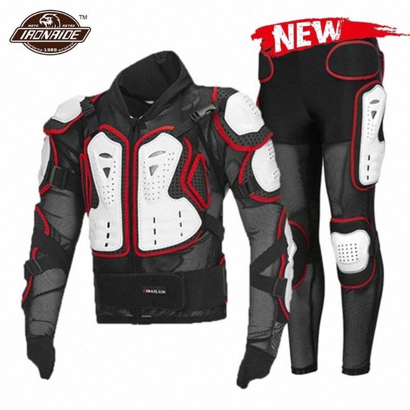 Новый мотоцикл куртки мужчины мотоцикла Доспех Полный бронежилет мотокроссу Мото Защита Motorbiker для лета UPQa #