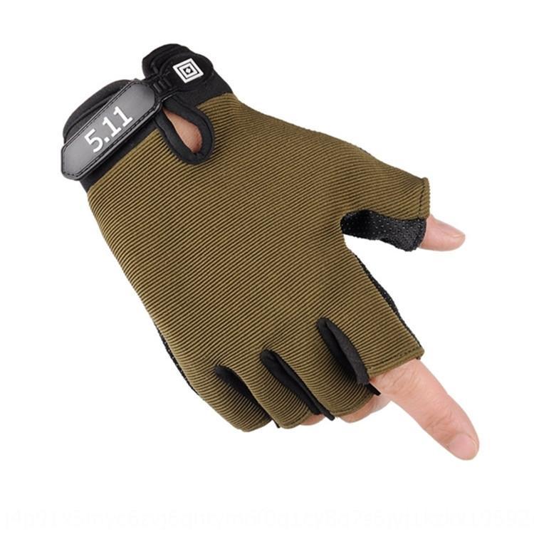 Springsummer autumn fitness men's sports half finger for women and children 511 outdoor gloves equipment gloves for men and
