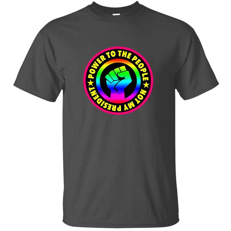 Moda Gaythe Direnç Tişört Erkek Grafik Yuvarlak Yaka Temel Katı Harajuku Erkekler Ve Kadınlar Tshirts En Tee için