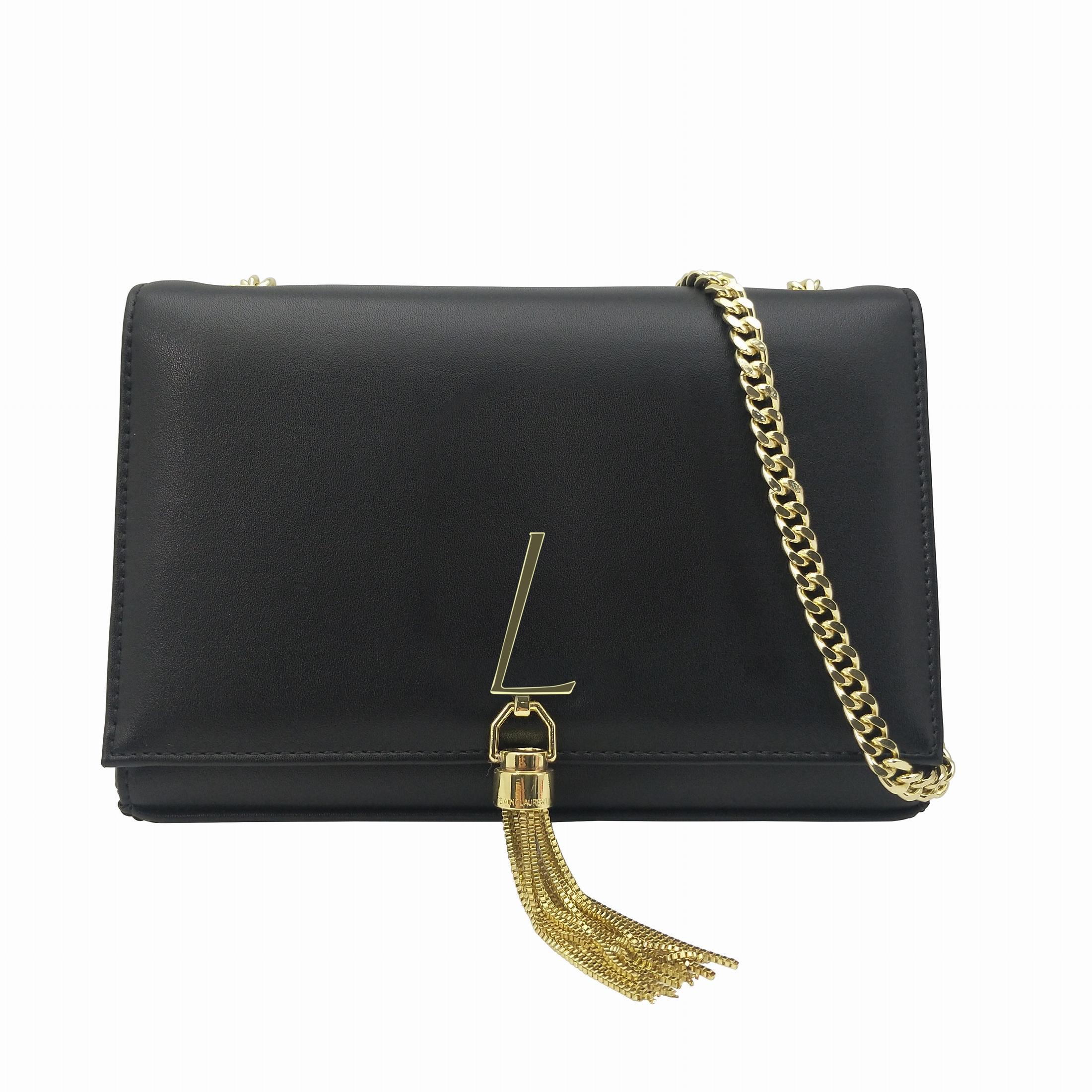 Mode Frauen Schulter Kate Taschen Geldbörse Gold Kette Crossbody Taschen Hohe Qualität Leder Kupplung Taschen Quaste Totes Messenger Bag Rucksäcke