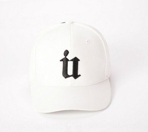 female Brother baby same U letter hat Pointed Hip-hop baseball stitching baseball peaked cap summer sun hat Running hip hop cap uxd3v