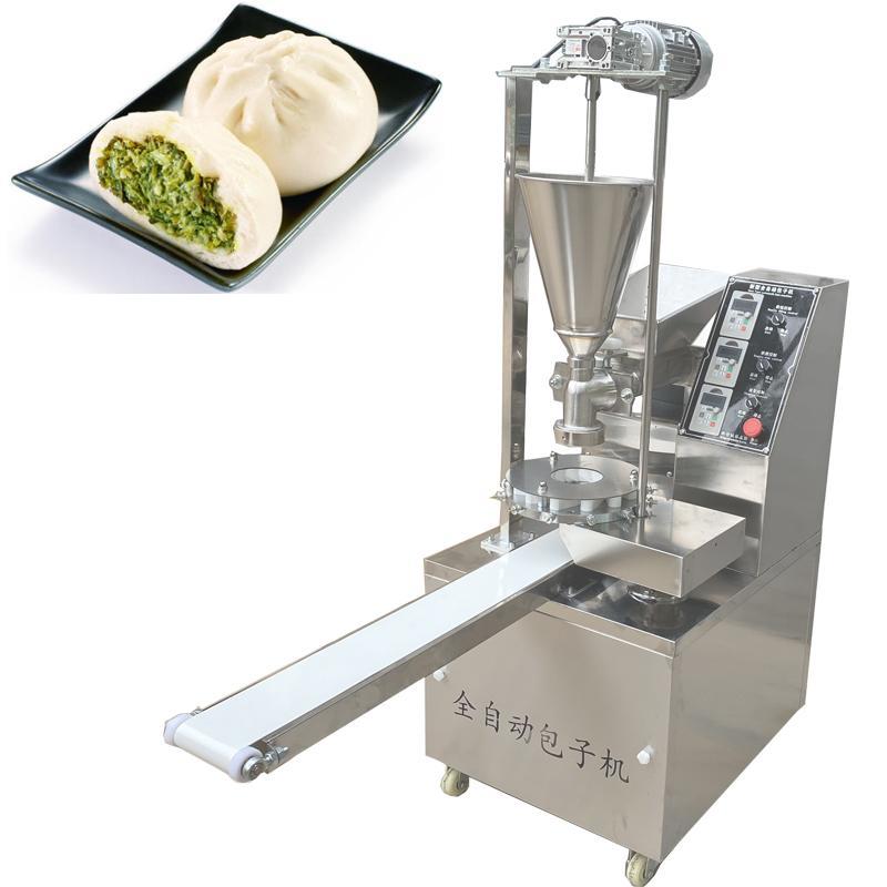 BL-180B Новый тип небольшой автоматический пропаренный булочка машина Baozi makerHigh эффективность / высокое качество / нержавеющая сталь последняя Фаршированная-булочка Макин