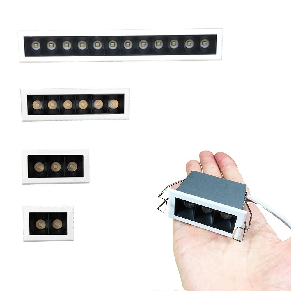 1W Bean 3030 Круг Квадрат Распределение Даже свет Мини Малой Линейный светодиодные лампы 2W 3W 6W 12W для Residental светотехники