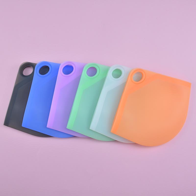 Mask Storage Box Face Mask Keeper Food Grade Silicone Holder Mouth Clip Folding Case Folder Bag Protective Organizer Anti Dust DHL