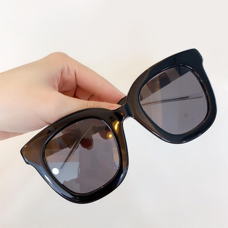 Женские солнцезащитные очки Мода Ацетат Негабаритные Рамка Дизайн Солнцезащитные очки Женский Оттенки UV400 объектива