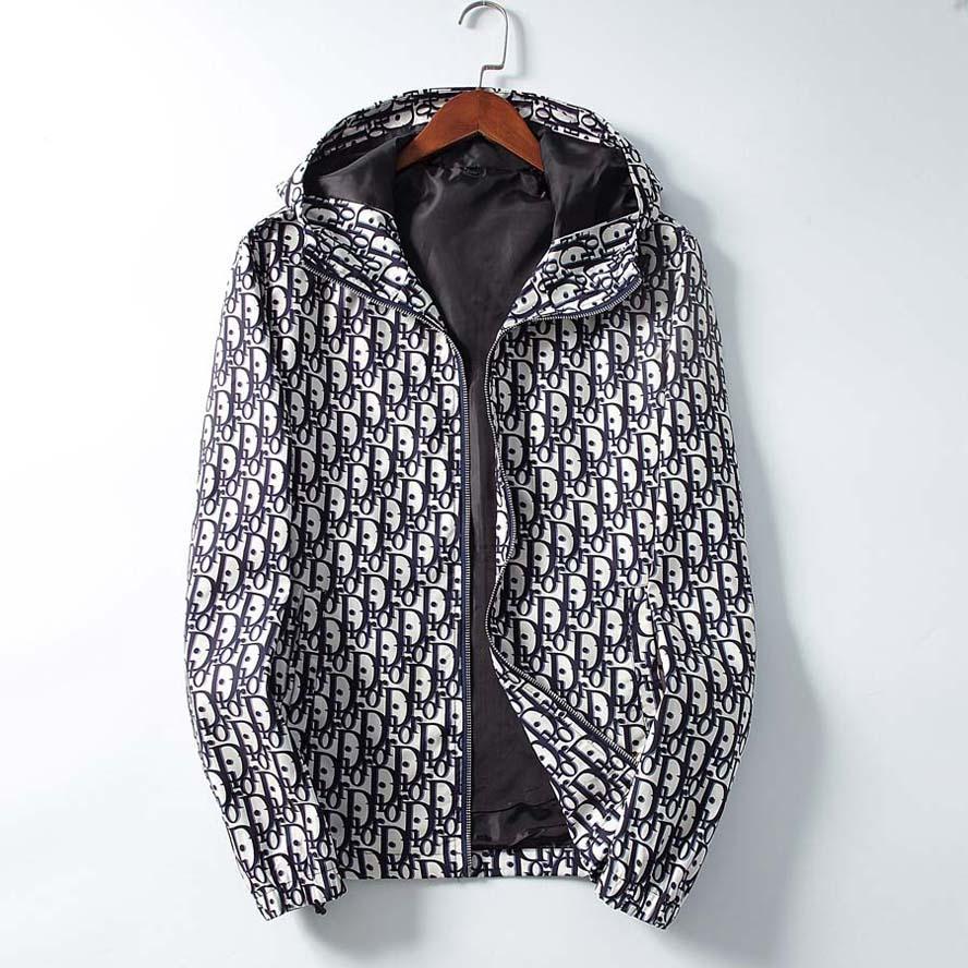 Sonbahar Kış Erkek Kadın Tasarımcı Kapşonlu WINDBREAKER Ceketler Uzun Kollu Medusa Erkek ceketler Moda Günlük Spor Ceketler Coats