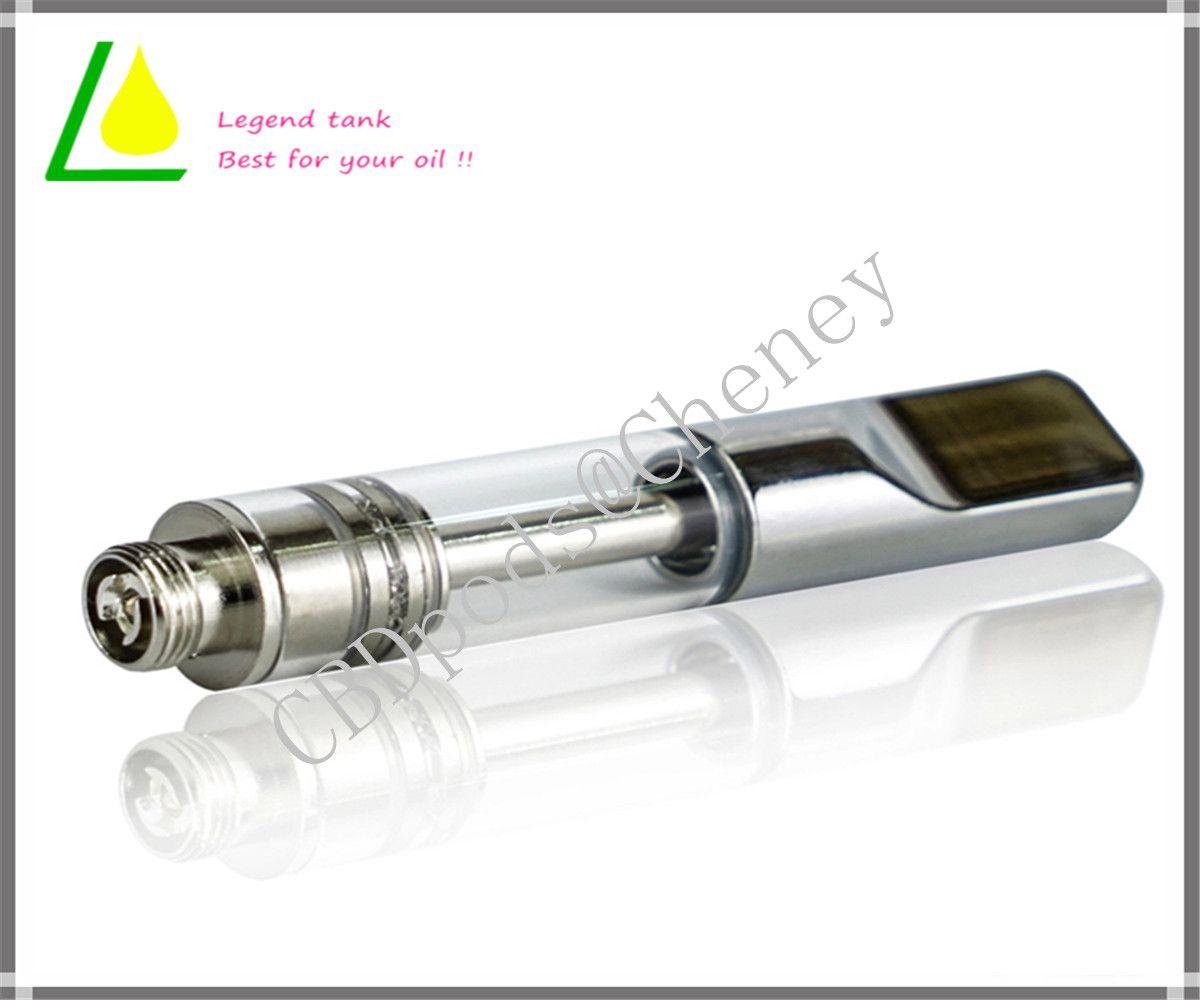 Recién creado Ac1007 personalizable vaporizador No filtra duradera Vape cartuchos de grueso Aceite 510 Cartucho de Vape pluma atomizador AC1007
