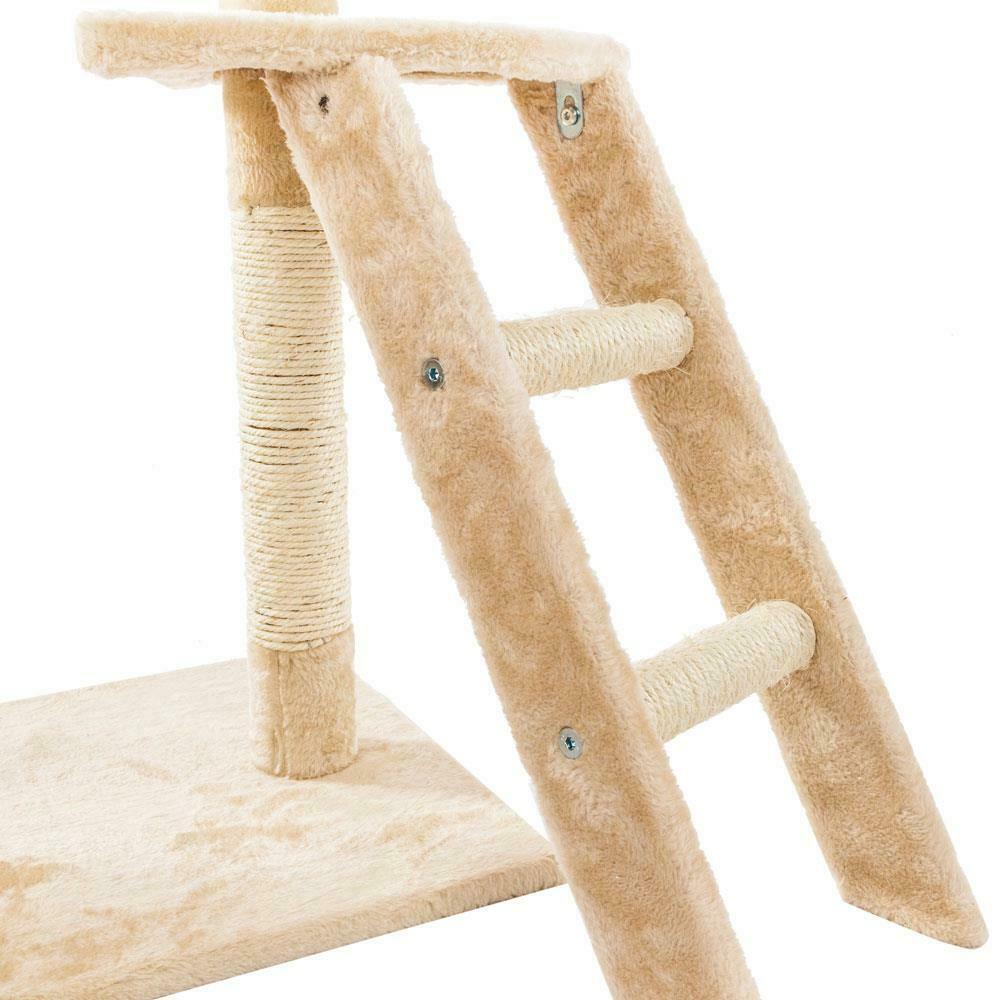 """جديد 60 """"Cat Tree Tower الشقة خدش الأثاث هريرة الحيوانات الأليفة هوم أرجوحة"""