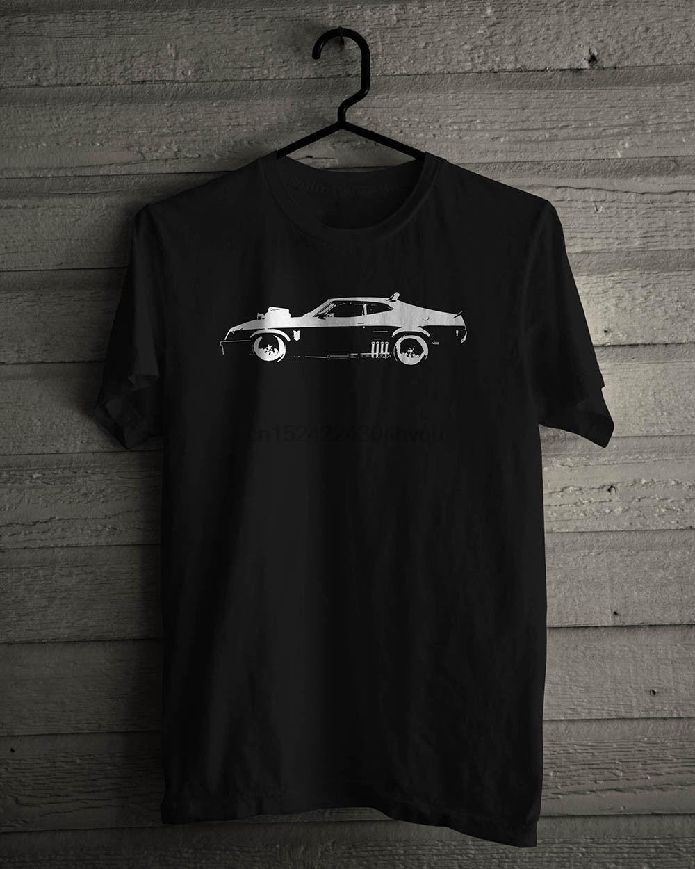 Negro coche nuevo Mad Max Interceptor la camiseta del tamaño S-5XL