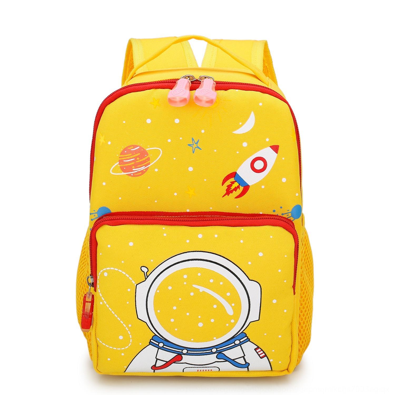 Pupil bag Korean style children kindergarten 3-year-old girl cartoon fashion backpack burden reduction 5-year-old baby backpack