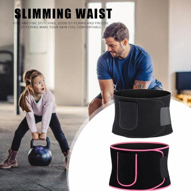 Hot Vente de remise en forme Ceinture nouveaux dans la conception Sweat de perte de poids exercice néoprène réglable à la taille Fitness Ceinture M991 #