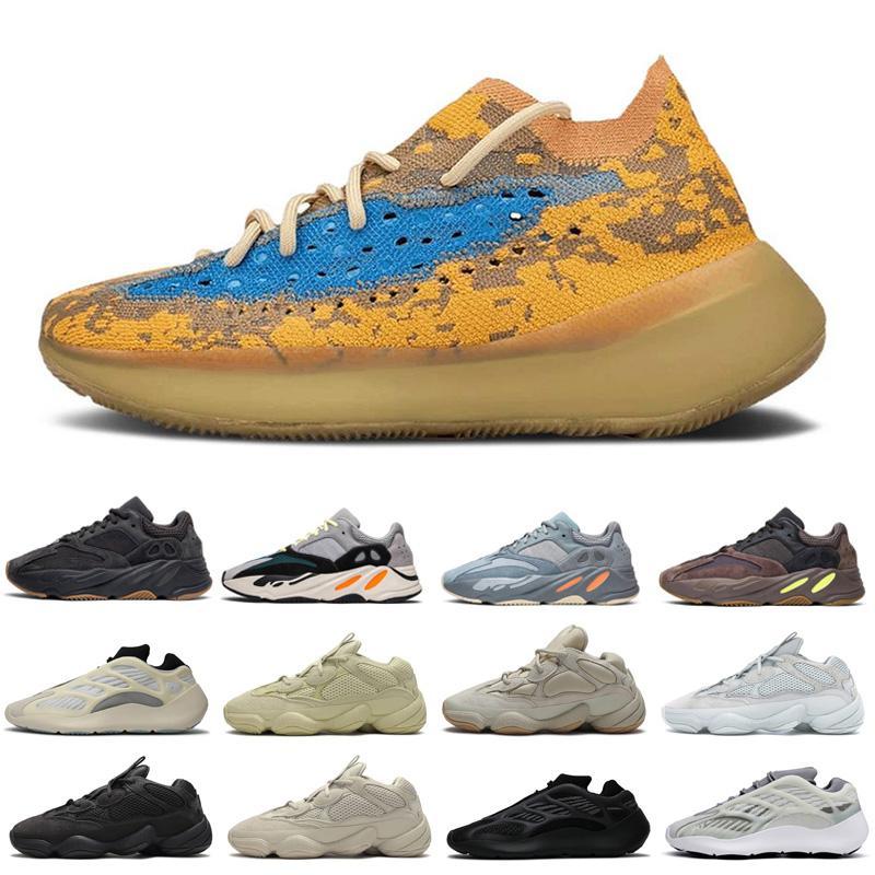 500 scarpe a buon mercato in corso per le donne gli uomini Utility Black Moon Giallo Mens delle donne nuovo arrivo 700 scarpe da ginnastica all'aria aperta scarpe sportive di formato 36-45