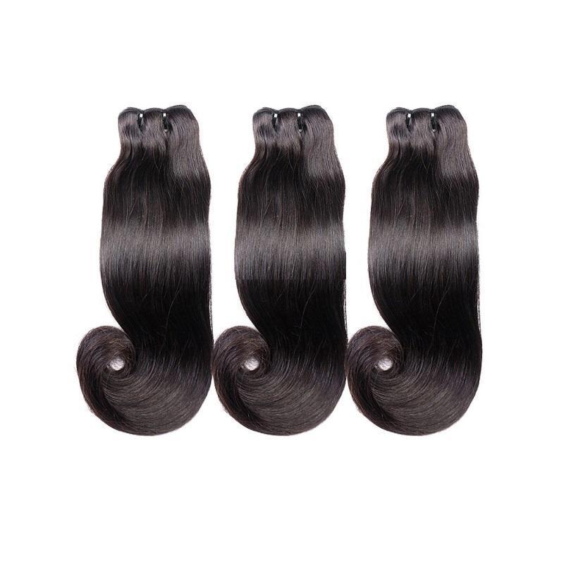 سوبر مزدوجة مرسومة مستقيم غير المجهزة الهندي العذراء الهندي ريمي الشعر البشري 10PCS 1000G الكثير اللون الطبيعي آخر وقت طويل من مانح واحد