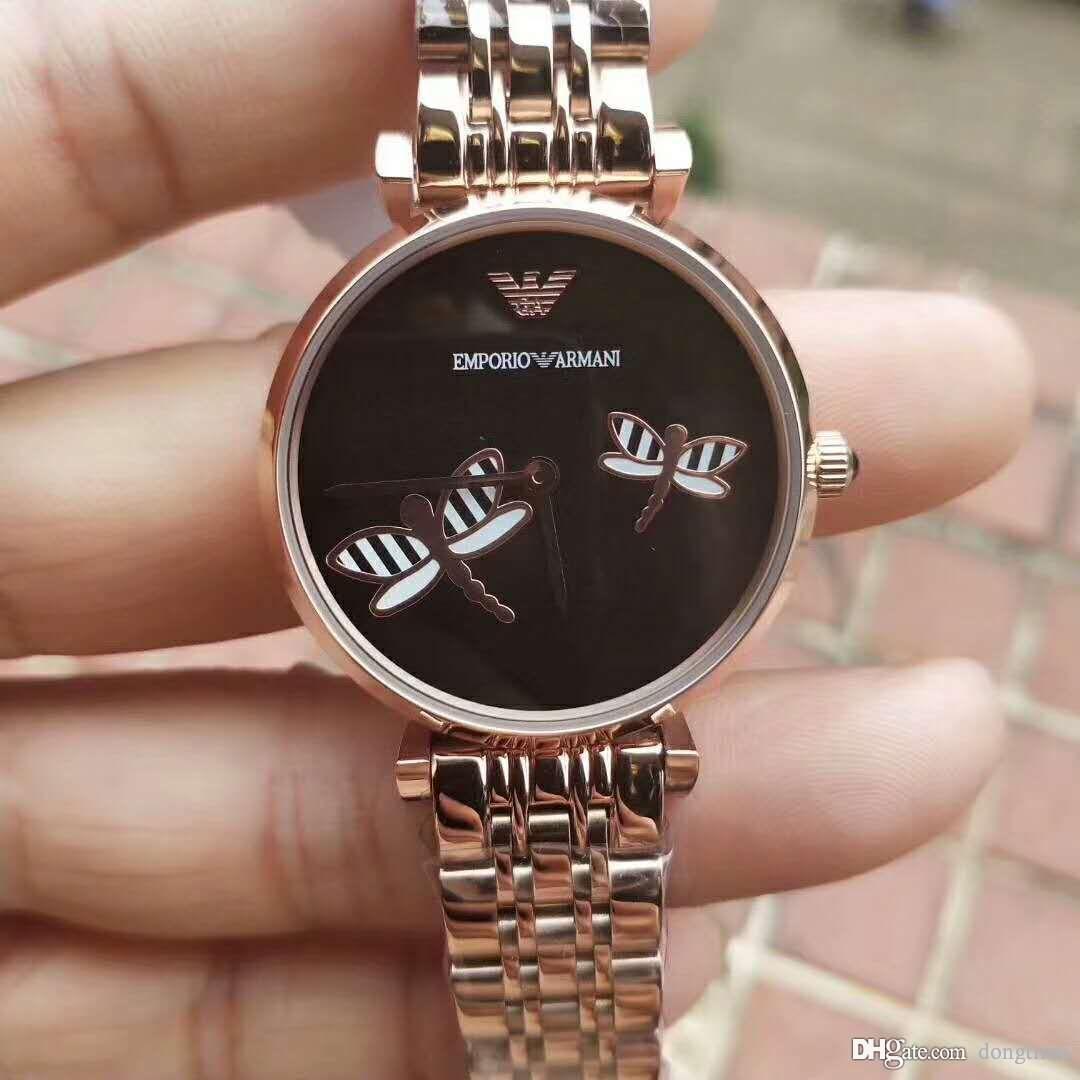 Neue heißen Frauen-Uhr-Art- und Luxus-Quarz-Armbanduhr Beste Dame Geschenk beiläufige Uhr Kleid-elegante Armbanduhr wasserdichtes Design Uhr L608008