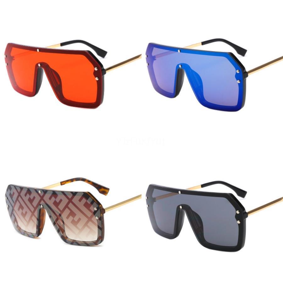 2020 Vintage Lunettes de soleil Femme Double F Lunettes de soleil Femmes Marque d'origine Designer femmes Sunglases Retro Sunglass Oculos De Sol # Gafas 938
