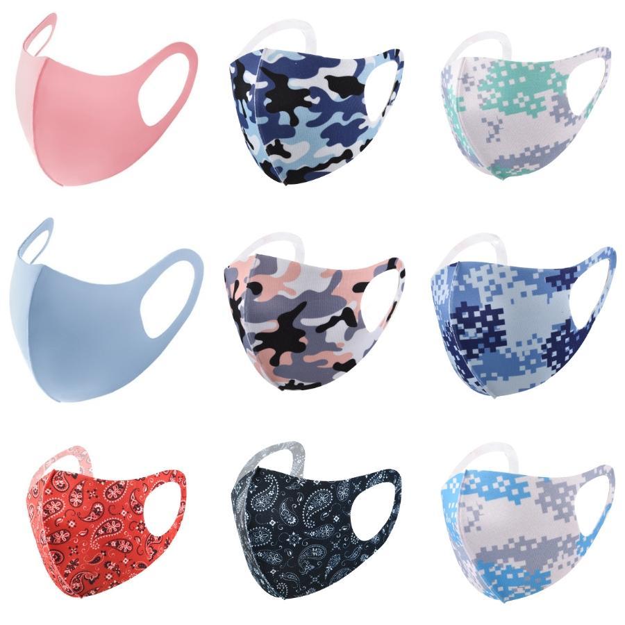 Liquidación unisex lavable Esponja Pañuelo para las mujeres de los hombres - Negro diseñador de la cara de esponja máscara # 752 # 855