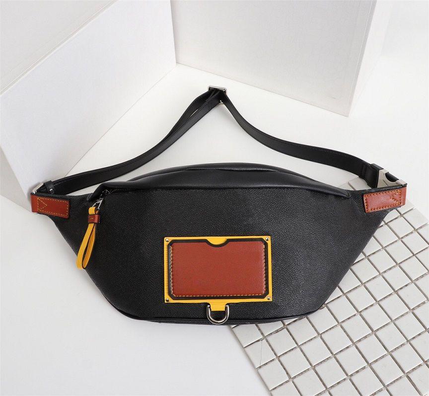 فاخر مصمم حقائب اليد المحافظ للرجال نمط جديد شارة ديسكفري الخصر حقيبة المرأة العلامة التجارية نمط كلاسيكي جلد طبيعي حقائب الكتف