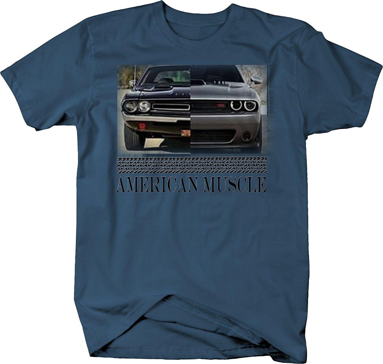 camisa T Challenger carro T-shirt clássico Modern 2020 Hot venda Moda americano do músculo