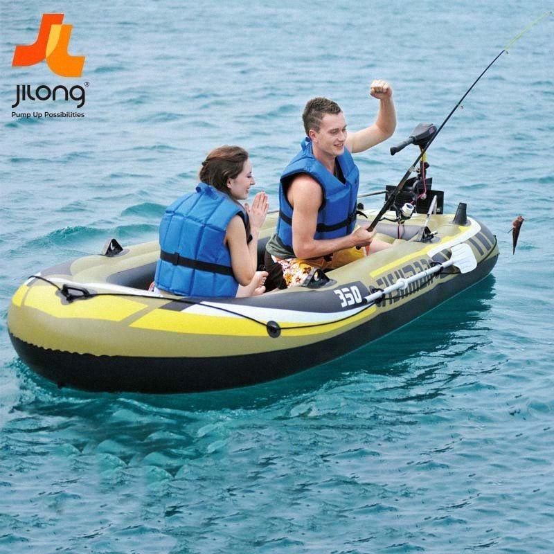 Accessori per piscine gonfiabili barca a remi in barca da pesca gonfiabile da pesca di anti usura flood Kayak MwNb #