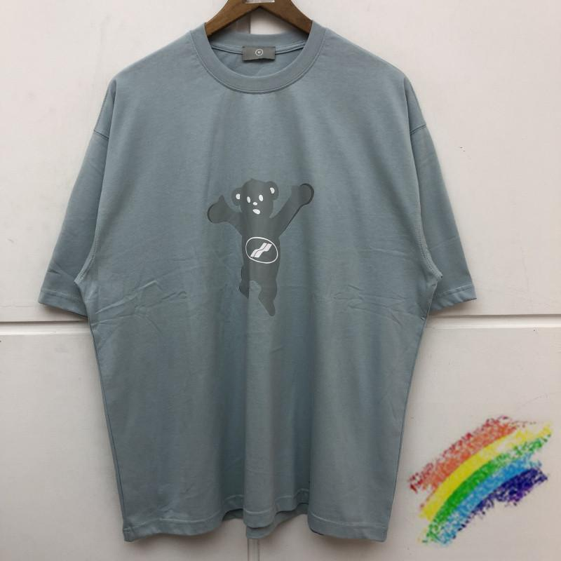 De gran tamaño impresión de la camiseta de los hombres de las mujeres mejor cal rosa azul camisetas Top Tees