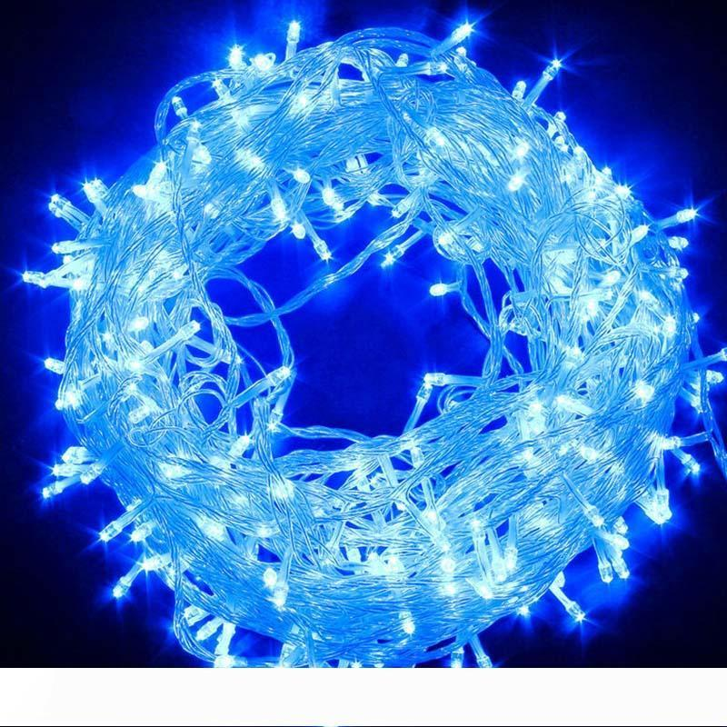 LED String Lights Party Fairy Decorative Lights 20M 200LEDs 220V Waterproof Twinkle Star Lamp for Indoor and Outdoor Use