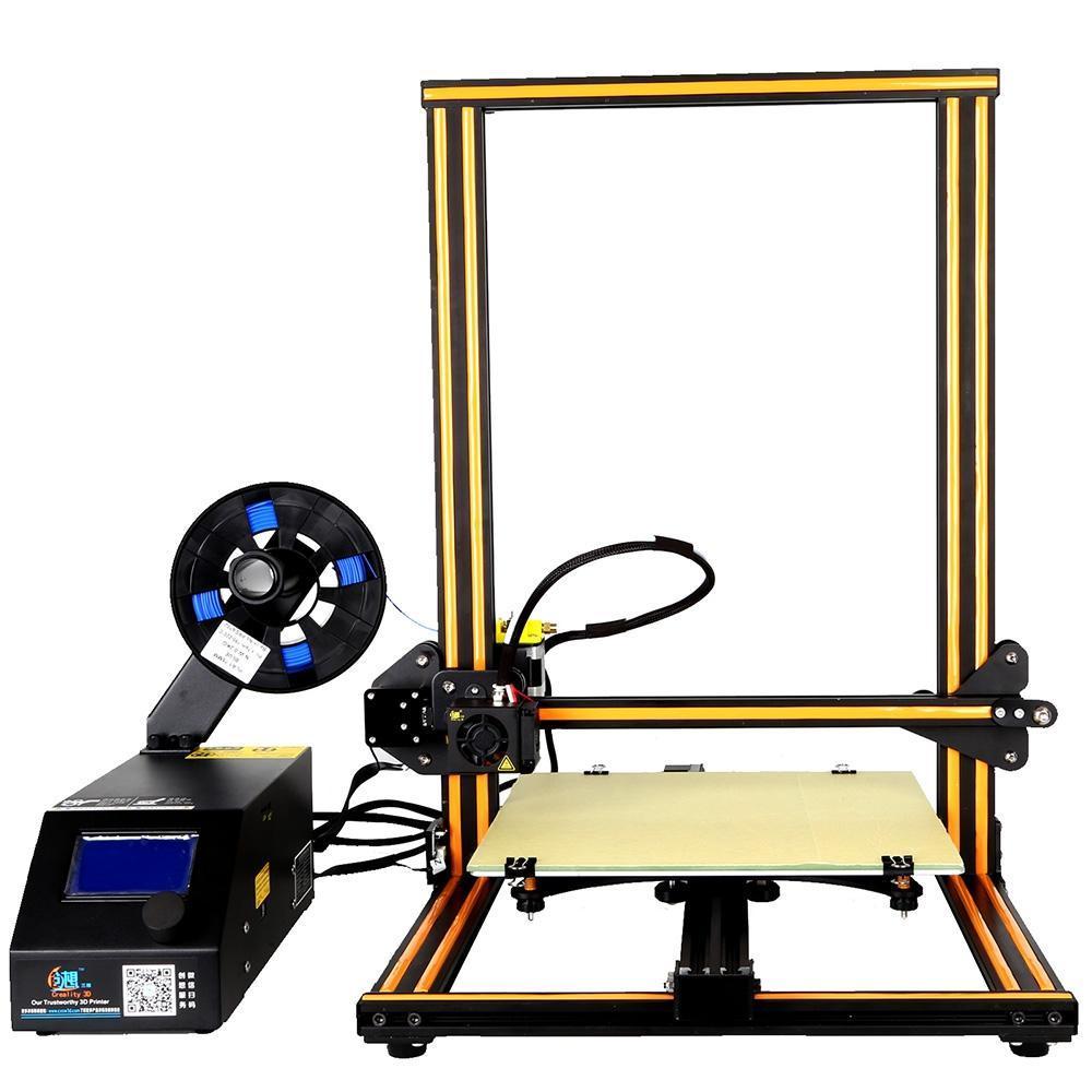 Creality3D 3D كبير الحجم سطح المكتب DIY شاشة الطابعة شاشة LCD 3D الطابعة طباعة وظيفة 300 × 300 × 400MM شحن مجاني VB