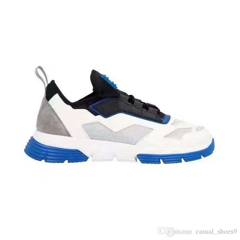 Moda zapatos de las zapatillas de moda de los hombres Declaración de los calzados informales atléticos Lo-Top de las zapatillas de deporte zapatos para hombre ocio al aire libre ZF2