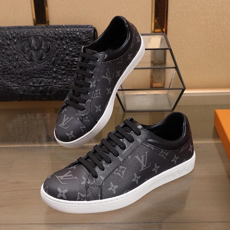 Yeni Geliş Erkek Ayakkabı Zapatos De Hombre Lüks Tasarımcı Yüksek Kalite Spor Ayakkabıları Lüksemburg Sneaker Dantel -Up Artı boyutu Düşük En Erkekler Ayakkabı