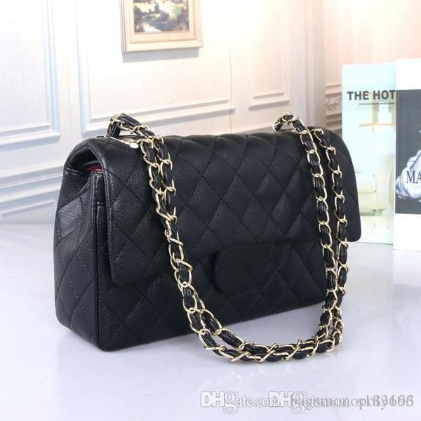 Chanel Sac à main fourre-tout sac à bandoulière Mode Sacs à main femmes Sac à main en cuir couvercle rabattable Sacs à bandoulière diagonale