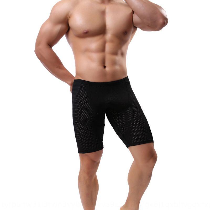 eumPT calções e calças dos homens de secagem rápida apertado correndo esportes recortada de treinamento da aptidão do verão Shorts C409 Calças e calças dos homens 0QY9X