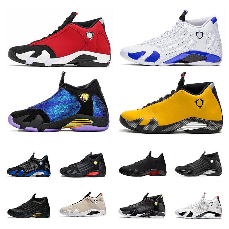 Gym Red Hyper Royale 14 14s hommes Chaussures de basket-Doernbecher DMP Desert Sand le dernier coup Toe noir bonbons baskets sport universitaires de canne