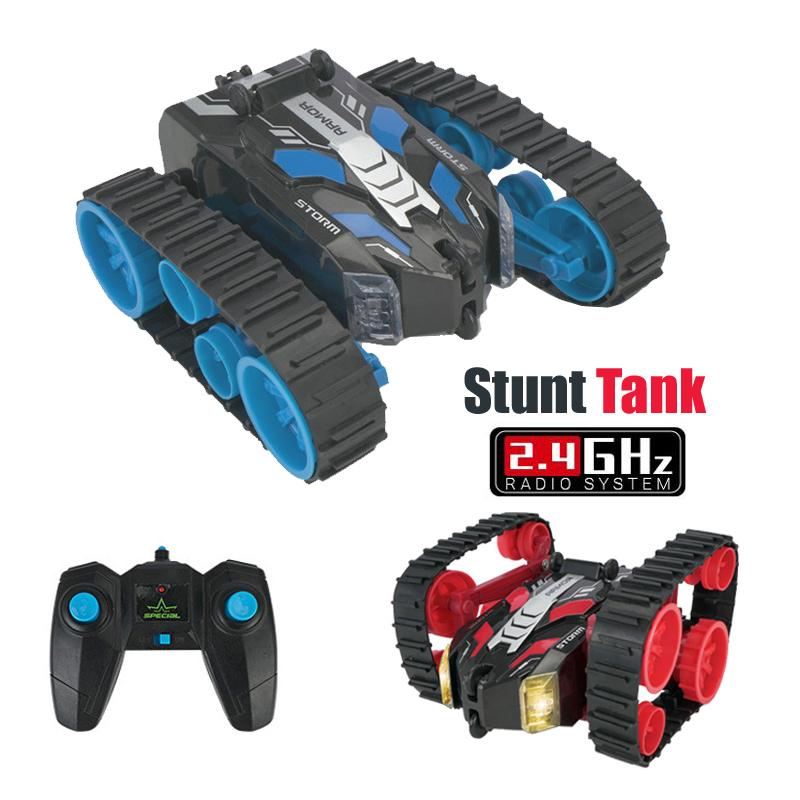 Rc Car Machine with Remote Control Tank Stunt High Speed 3D Flip Drift Toys For Boys Buggy Battery Operated Radio Control Car Y200317