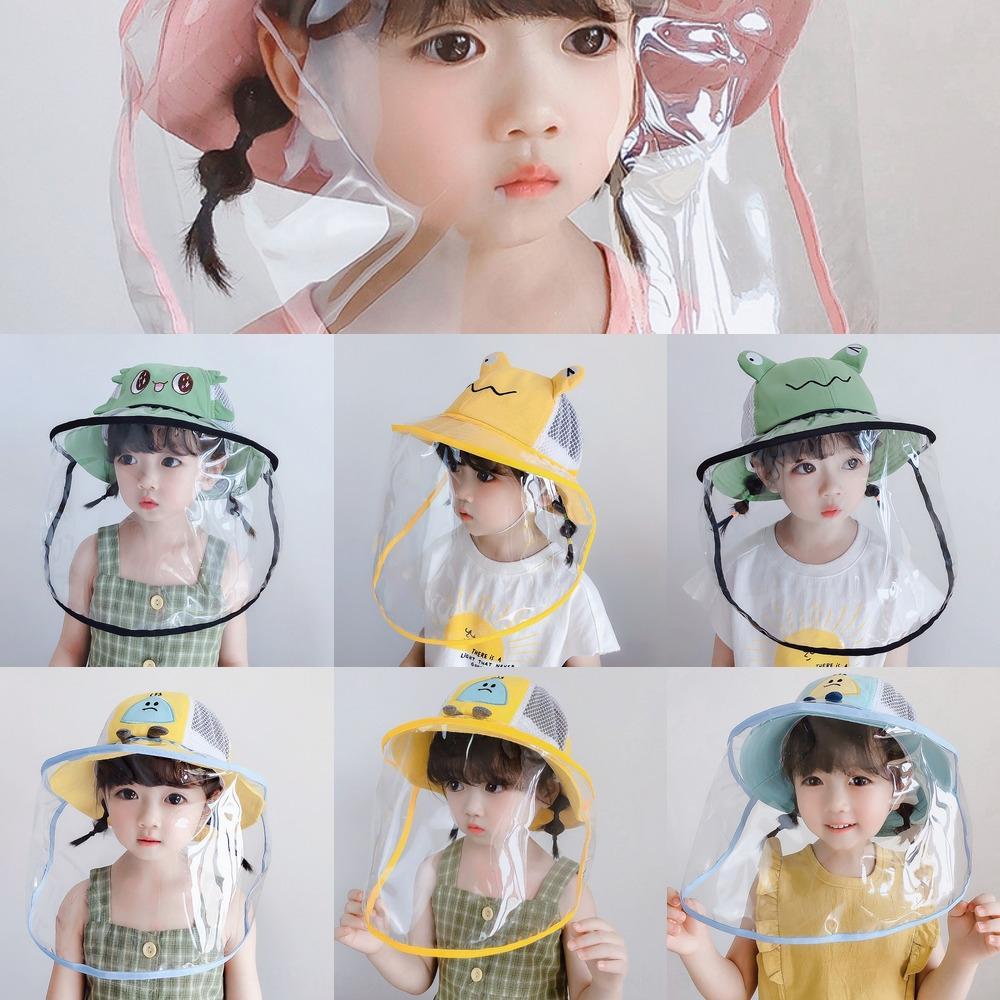 2020 bébé seau anti-volant été mousse net bébé femme princesse pêcheur chapeau seau style coréen chapeau de soleil