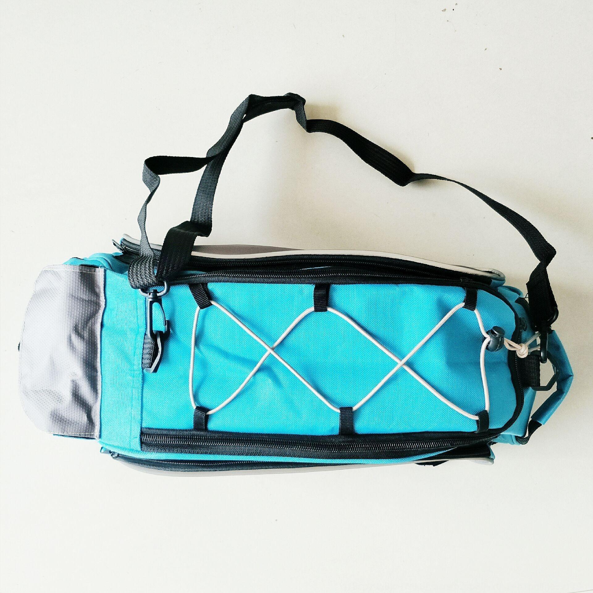 posteriore zaino grande borsa sacchetto mensola della bicicletta attrezzature zaino da viaggio in bicicletta a cavallo