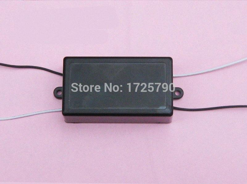 Black Waterproof Enclosure Box Electronic Instrument Case Plastic Cover Project for 1 Channel Relay Module 62.5*35*25MM wIja#