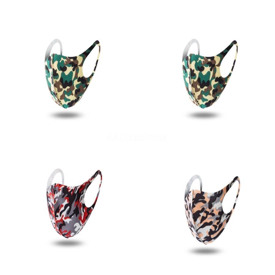 Gum Máscara do macaco Mout dos desenhos animados Imprimir Cubrebocas Con Caritas Ultraviolet Proof Wasable Correndo Máscara Bicicleta da equitação de protecção Bde2011 B # 449