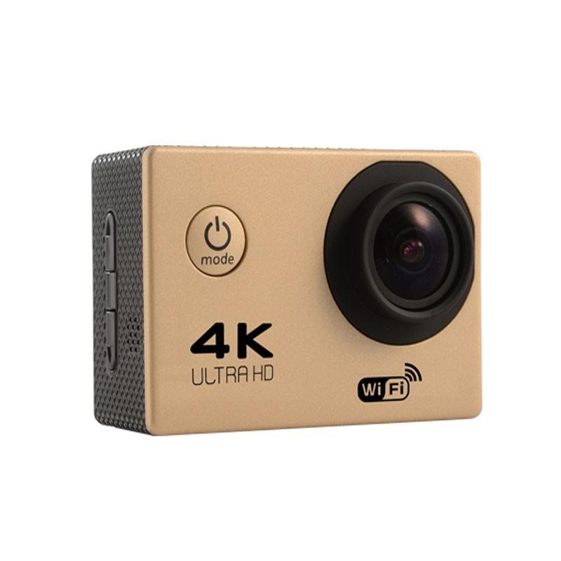 """4k Action Camera F60 Allwinner 4k / 30fps 1080P Sport Wifi 2.0 """"170D Helm Cam Unterwasser Go Wasserdichte Pro 20 stücke"""
