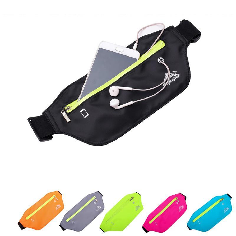 Мода унисекс мешок мешок водонепроницаемый мешок сундук нейлон бегущий путешествие мобильная талия фитнес телефон многофункциональный xiswo