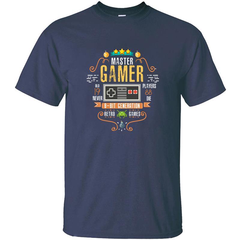 Gömme video Gamer 1988 Doğum Retro Gamer Tasarım Tişört İçin Erkek Ordu Yeşil Elbise Müthiş Erkekler T Shirt 2019 Tee Üst