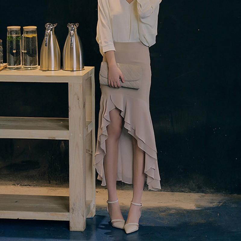 Sandalet Kadınlar 2020 Yaz Ofisi Bayanlar Zarif Sivri burun Toka Kayış Stiletto Sandal Yeni Pembe Yüksek Topuklar Kadın Elbise Ayakkabıları