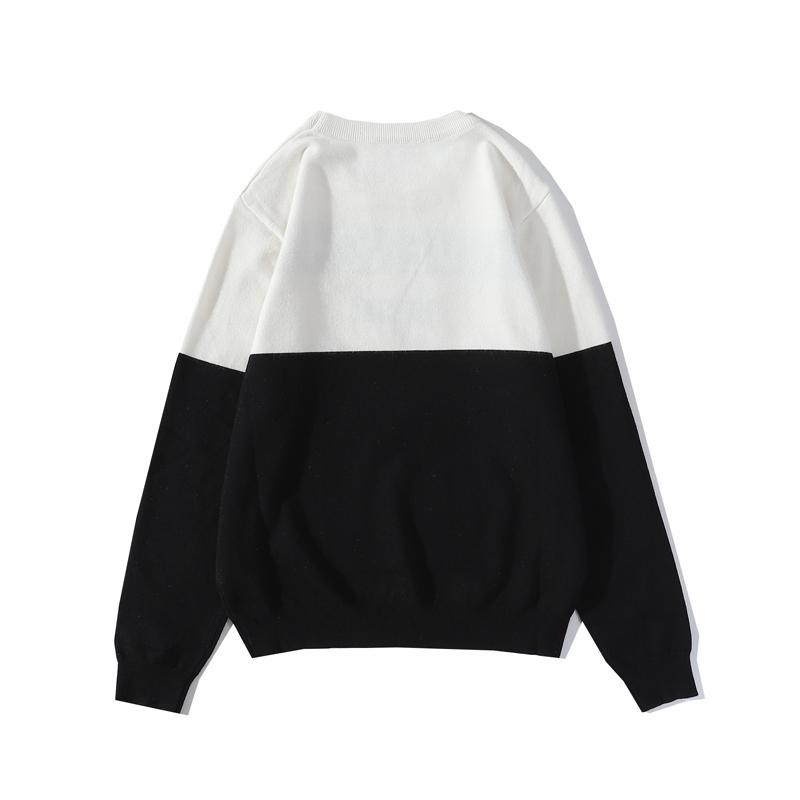 20fw Lettres Broderie Mens Femmes Pulls Fashion Hommes Sweats à capuche Nouvelle Arrivée Pull Sweat-shirt Hommes Taille de Vêtements M-2XL