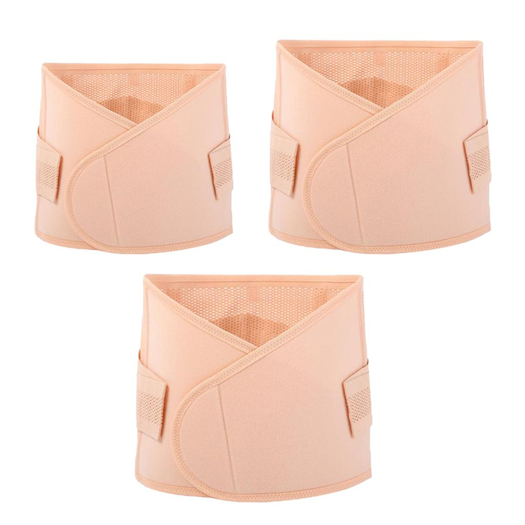 3pcs postnatale post-partum della vita Trimmer Wrap Support Shapewear