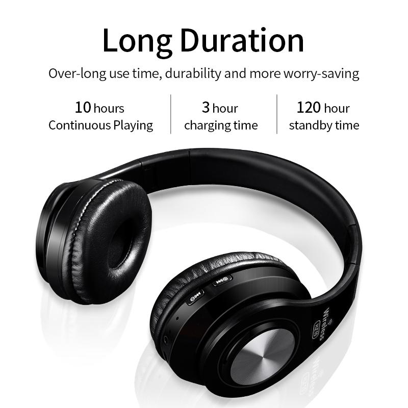 Wireless Headphones Bluetooth Headset Foldable Stereo Headphone Gaming Earphones Support Tf Card With Mic For Pc All Phone Mp3 Bluetooth Phone Headset Cell Phone Headset From Jack16999 35 7 Dhgate Com