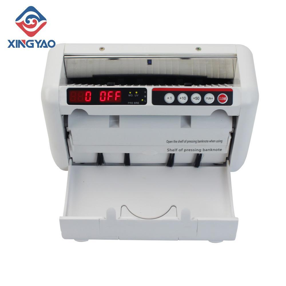 K-1000 Portatif Bill karşı Sahte para dedektörü UV MG Mini Nakit Sayma Makinesi ile şarj edilebilir batarya